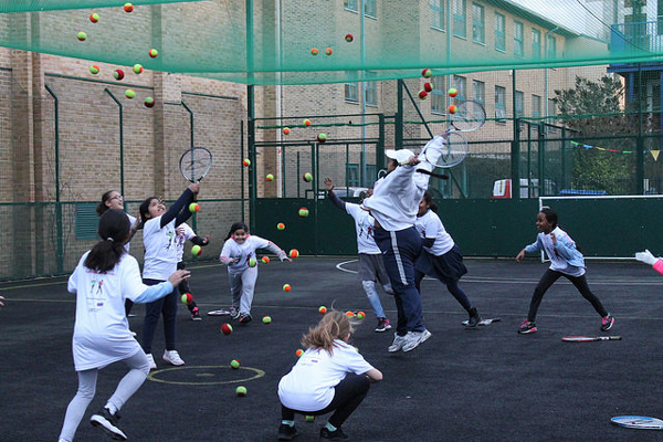 Open category winner Belly up tennis By Sophie Grant for Tennis2Be